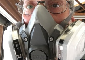 For your safety: 3M Respirator 6211