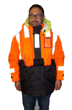Lifejacket coat takes the scratch out of wearing a PFD