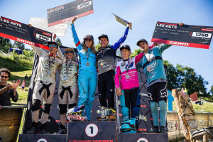 Troy Brosnan cleans up Crankworx Les Gets