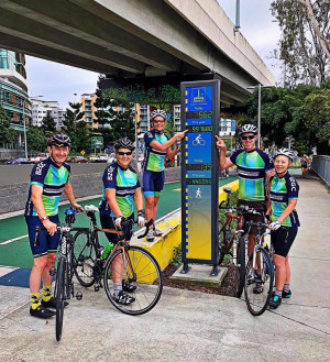 Brisbane Leads The Way As Bike Counter Registers 1,000,000 Trips
