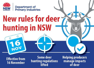 New Rules For NSW Deer Hunting