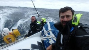 Blasting along the wild west of Ireland - Round Britain and Ireland Race