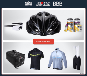 Win: BBB Cycling $1000 Gran Fondo Starter Kit Competition