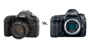 Canon 5D Mark I vs. 5D Mark IV - 13 years of technology, but is there much difference?