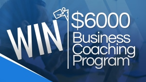 Win $6000 of business coaching