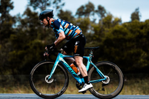 Latest Podcast: Tim 'Bacon' Searle Who Has Ridden Almost 200,000km On Zwift