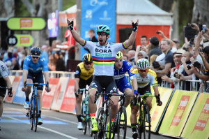 Peter Sagan Kicks Off Team's TDU Campaign With Stunning Sprint Win