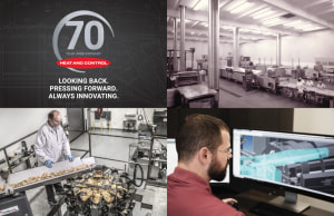 Heat and Control marks 70 years of innovation excellence