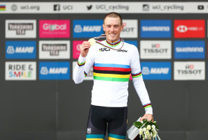 Rohan Dennis Backs Up To Win Consecutive World Championship Time Trial
