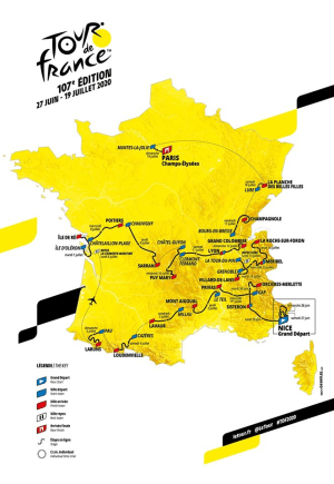 'The Most Brutal In Years': 2020 Tour De France Route Details Announced