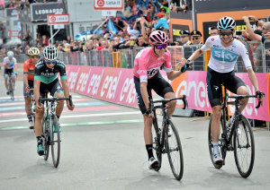 Giro: Mitchelton-Scott Enjoy 5th Stage Win As Chris Froome All But Cements Overall Title