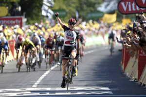 Tour De France: Dan Martin Wins Stage 6 In Style