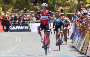 TDU: Daryl Impey, Richie Porte & Matt Hayman Celebrate As Paddy Bevin Puts In Gallant Effort