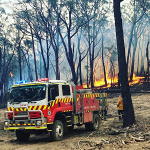 Cyclists Pledge Support As National Bushfire Crisis Continues