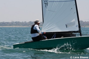 Australian OK Dinghy Nationals at Black Rock conclude in light winds and with an 11th title for Roger Blasse