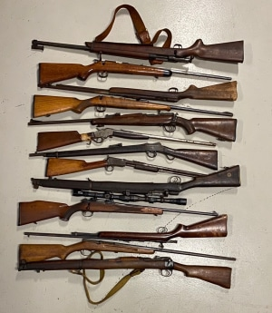 Firearms Seized For Two Counts of Not Prevent Theft/Loss of a Firearm