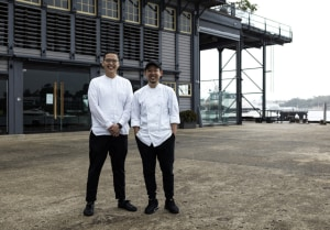 Two chef heavyweights are opening a Sydney Harbour restaurant together