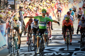 Green Machine: Peter Sagan Wins Stage 5 Of Tour de France