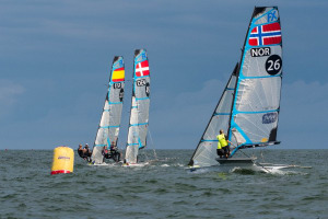 No Aussies in the top five at 49er, 49erFX and Nacra European Championships