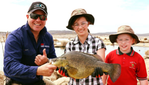 Tenterfield Dam Fish For Life fishing day