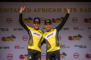 Nino Schurter and Lars Forster win 2019 Cape Epic Openers