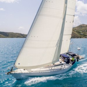 "North Sails says 3Di NORDAC delivers ""a smoother and more permanent aerodynamic shape"""