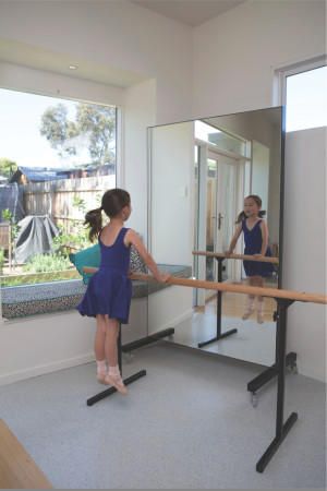 Show Works: Home use barres and mirrors