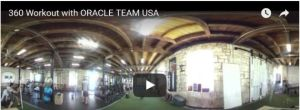 America's Cup teams post 360 degree videos