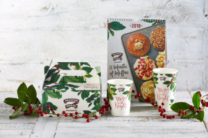 Muffin Break rolls into Christmas with a botanical twist