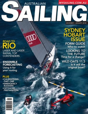 Rolex Sydney Hobart in Dec/Jan Australian Sailing