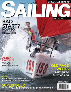 Raceweeks, starting, navigating, foiling and preparing for storms in Australian Sailing June-July