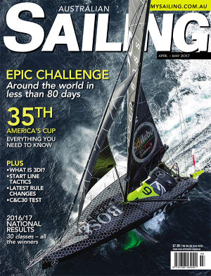 America's Cup preview in April/May Australian Sailing