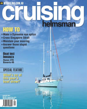 Maintenance madness in Cruising Helmsman's August boat show feature