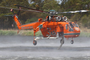 Aircranes chalk up 20 Years of Fighting Australian Bushfires