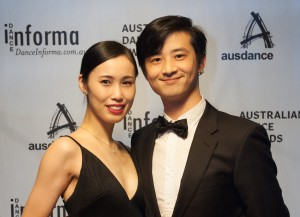 Emotions flow at Australian Dance Awards