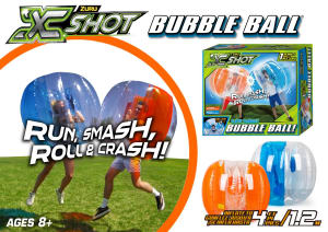 Get your game on with Xshot Bubble ball from All Brands Toys