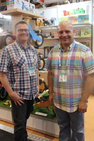 2016 Toy Supplier of the Year – Artiwood Australia, owners Andrew McGregor and Garry Smith
