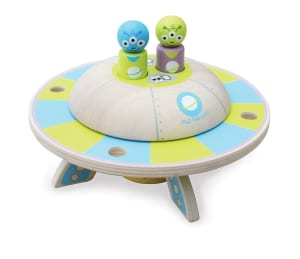 Do the TimeWarp with Flo the UFO from Artiwood Australia