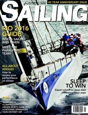 Rio 2016 guide in Aug/Sept Australian Sailing