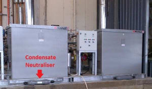How to treat condensate from boilers