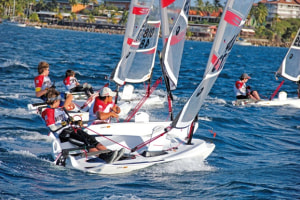 2019 O'pen BIC Worlds for Sir Russell Coutts' sailing club