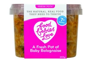 Mum-of-three takes on baby food category