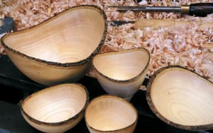 Turning Live-Edge Bowls