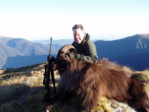 Hunting Himalayan Tahr in New Zealand
