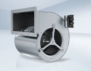 Energy-saving EC centrifugal blowers with high power density