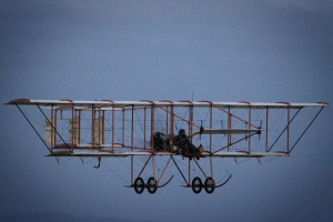 Boxkite Replica Flies at Point Cook