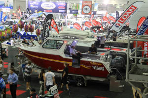 Plenty on offer at the Brisbane Boat Show