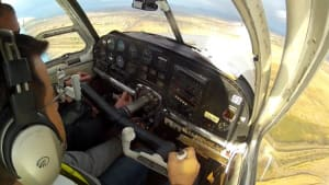 FRIDAY FLYING VIDEO: Bonanza Door