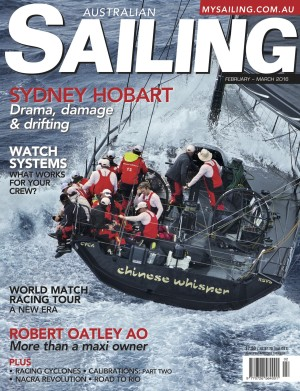 Sydney Hobart and Bob Oatley in Feb/Mar Australian Sailing Magazine