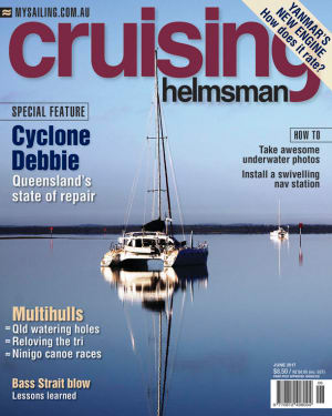 The Debbie aftermath in the June Cruising Helmsman